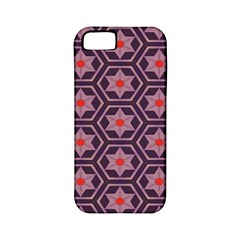 Flowers And Honeycomb Pattern			apple Iphone 5 Classic Hardshell Case (pc+silicone) by LalyLauraFLM