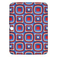 3d Squaressamsung Galaxy Tab 3 (10 1 ) P5200 Hardshell Case by LalyLauraFLM