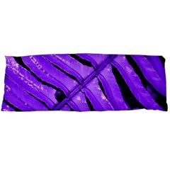 Purple Fern Body Pillow Cases (dakimakura)  by timelessartoncanvas