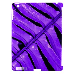 Purple Fern Apple Ipad 3/4 Hardshell Case (compatible With Smart Cover) by timelessartoncanvas