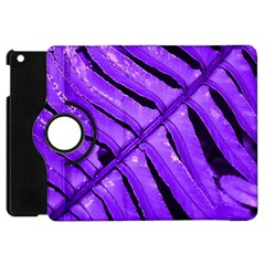 Purple Fern Apple Ipad Mini Flip 360 Case by timelessartoncanvas