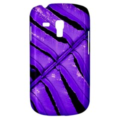 Purple Fern Samsung Galaxy S3 Mini I8190 Hardshell Case by timelessartoncanvas