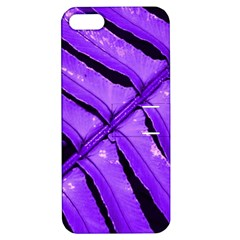Purple Fern Apple Iphone 5 Hardshell Case With Stand by timelessartoncanvas