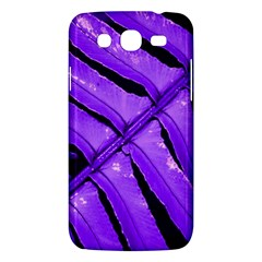 Purple Fern Samsung Galaxy Mega 5 8 I9152 Hardshell Case  by timelessartoncanvas
