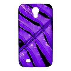 Purple Fern Samsung Galaxy Mega 6 3  I9200 Hardshell Case by timelessartoncanvas