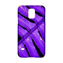 Purple Fern Samsung Galaxy S5 Hardshell Case  by timelessartoncanvas