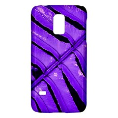 Purple Fern Galaxy S5 Mini by timelessartoncanvas
