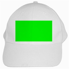 Cool Green White Cap by Costasonlineshop