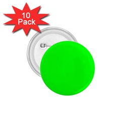 Cool Green 1 75  Buttons (10 Pack) by Costasonlineshop