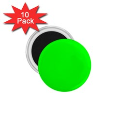 Cool Green 1 75  Magnets (10 Pack)  by Costasonlineshop