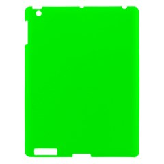 Cool Green Apple Ipad 3/4 Hardshell Case by Costasonlineshop