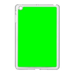 Cool Green Apple Ipad Mini Case (white) by Costasonlineshop