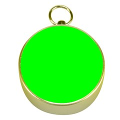 Cool Green Gold Compasses