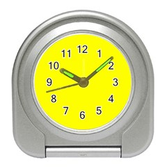 Beautiful Yellow Travel Alarm Clocks by Costasonlineshop