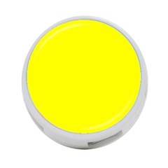 Beautiful Yellow 4 Port Usb Hub (two Sides)  by Costasonlineshop