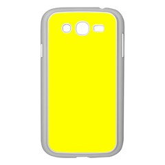 Beautiful Yellow Samsung Galaxy Grand Duos I9082 Case (white) by Costasonlineshop