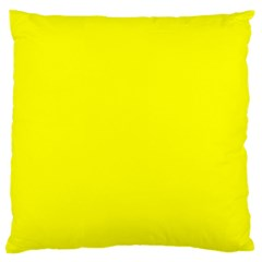 Beautiful Yellow Large Flano Cushion Cases (two Sides)