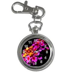 Lantanas Key Chain Watches by timelessartoncanvas