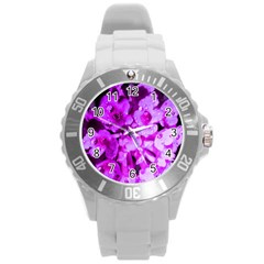Dsc 01176665652 Round Plastic Sport Watch (l) by timelessartoncanvas