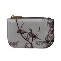 Couple Of Parrots In The Top Of A Tree Mini Coin Purses by dflcprints