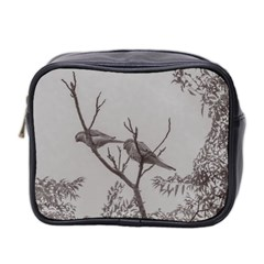 Couple Of Parrots In The Top Of A Tree Mini Toiletries Bag 2 Side by dflcprints