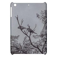 Couple Of Parrots In The Top Of A Tree Apple Ipad Mini Hardshell Case by dflcprints