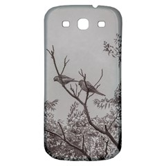 Couple Of Parrots In The Top Of A Tree Samsung Galaxy S3 S Iii Classic Hardshell Back Case by dflcprints