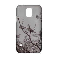 Couple Of Parrots In The Top Of A Tree Samsung Galaxy S5 Hardshell Case  by dflcprints
