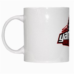 Yamahaclub Wheel Design White Coffee Mug by yamahaclub