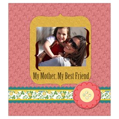 Mothers Day By Mom   Drawstring Pouch (large)   7ntuasomb3w8   Www Artscow Com Front