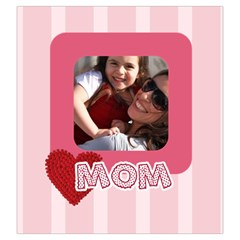 Mothers Day By Mom   Drawstring Pouch (large)   9drmer5fm75w   Www Artscow Com Front