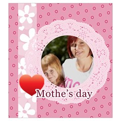 Mothers Day By Mom   Drawstring Pouch (large)   Kdibupp43670   Www Artscow Com Back