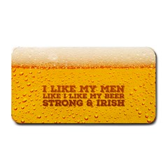 Beer Medium Bar Mat by typewriter
