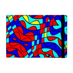 Colorful Bent Shapes			apple Ipad Mini 2 Flip Case by LalyLauraFLM