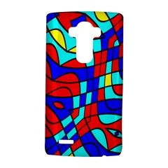 Colorful Bent Shapes			lg G4 Hardshell Case by LalyLauraFLM
