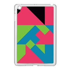 Angles			apple Ipad Mini Case (white) by LalyLauraFLM