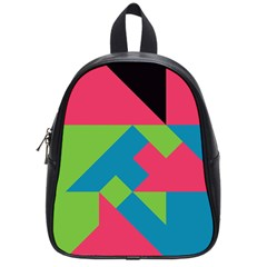 Angles 			school Bag (small) by LalyLauraFLM