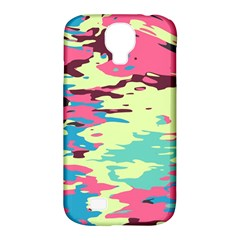 Chaos Texturesamsung Galaxy S4 Classic Hardshell Case (pc+silicone) by LalyLauraFLM