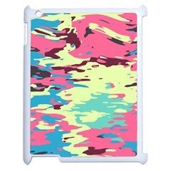 Chaos Textureapple Ipad 2 Case (white) by LalyLauraFLM