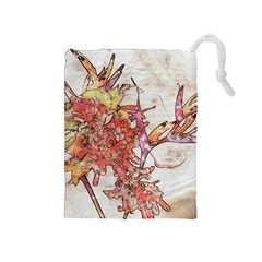 Art Studio 17216 Drawstring Pouches (medium)  by MoreColorsinLife