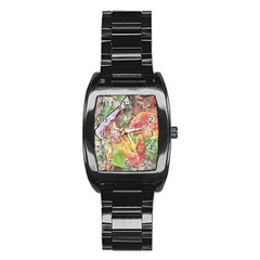 Art Studio 21216 Stainless Steel Barrel Watch by MoreColorsinLife