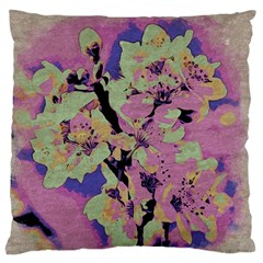 Floral Art Studio 12216 Standard Flano Cushion Cases (two Sides)  by MoreColorsinLife