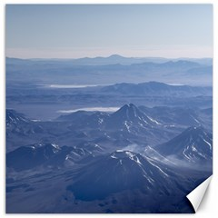 Window Plane View Of Andes Mountains Canvas 12  X 12   by dflcprints