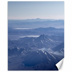 Window Plane View Of Andes Mountains Canvas 11  X 14   by dflcprints