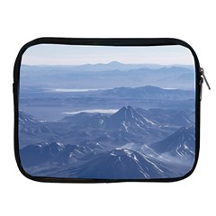Window Plane View Of Andes Mountains Apple Ipad 2/3/4 Zipper Cases by dflcprints