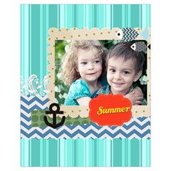 Summer By Summer Time    Drawstring Pouch (xl)   E15kzw13eur1   Www Artscow Com Front