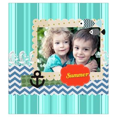 Summer By Summer Time    Drawstring Pouch (xxl)   Bjxnr8o5clrg   Www Artscow Com Front
