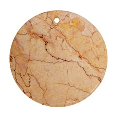 Stone Floor Marble Ornament (round)  by essentialimage