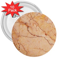 Stone Floor Marble 3  Buttons (10 Pack)  by essentialimage