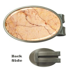 Stone Floor Marble Money Clips (oval)  by essentialimage
